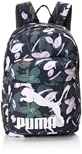PUMA Originals Backpack Rucksack, Black-floral Print, OSFA