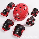 Jiubing Kids Youth sport di Gear set con casco gomito ginocchio polso sicurezza...