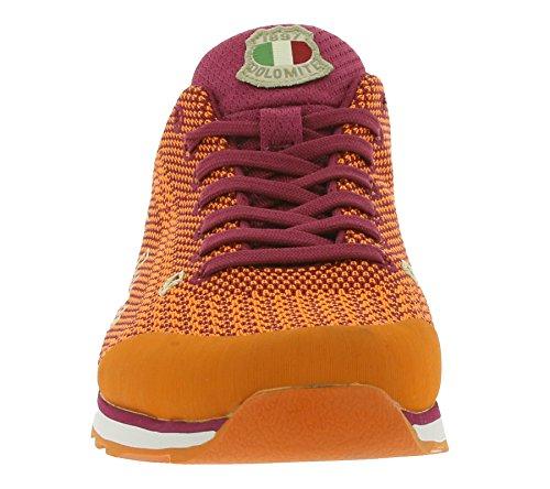 Chaussures Dolomite Cinqunataquattro Tricot 54 Or Orange Orange