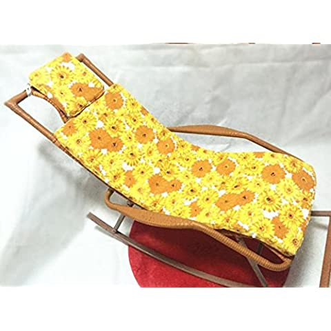 Menzogne sedia pad cuscino imbottito tessuto da