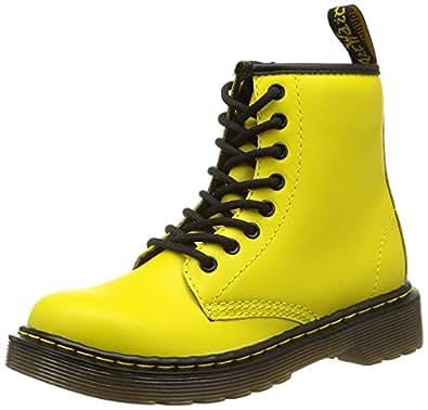 Dr. Martens  DELANEY Softy T, chaussures bateau mixte enfant - Jaune - Gelb (Wild Yellow), 30 EU