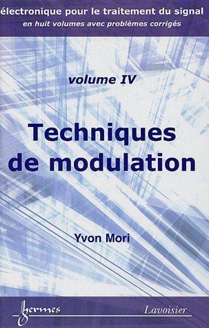 Techniques de modulation par Yvon Mori