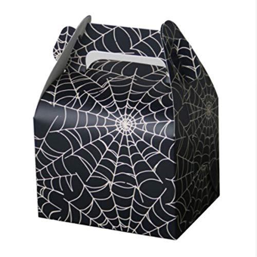 Botreelife 10 Stück Halloween Candy Bag Urlaub Feier Zucker Box Tisch Dekor Event Supplies Geschenk Party Favor