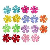 Sharplace 100 Stück Filz Blumen für Kunst und Handwerk - Multi3
