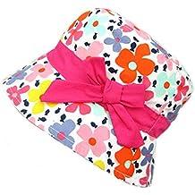 Gifts Treat Cappello da Bambina Estivo Cappello da Sole Cappello Boonie in  Cotone Pieghevole 1cc7096d6d38