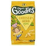 Organix Brands Cheese and Herb Puffs, 60g