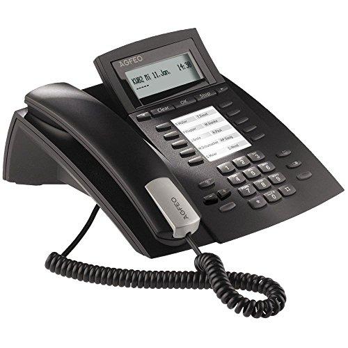 Agfeo ST 22 IP Systemtelefon schwarz
