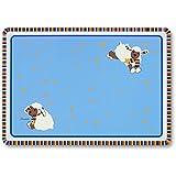 Sterntaler 98315 Tisch-Set mit schönem Motiv Schaf Stanley, blau