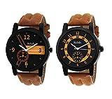 Relish AZ001 Analog Tan Watches combo fo...