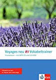 Voyages neu A1 Vokabeltrainer: Vokabelheft + CD/MP3 + CD-ROM (PC/Mac)