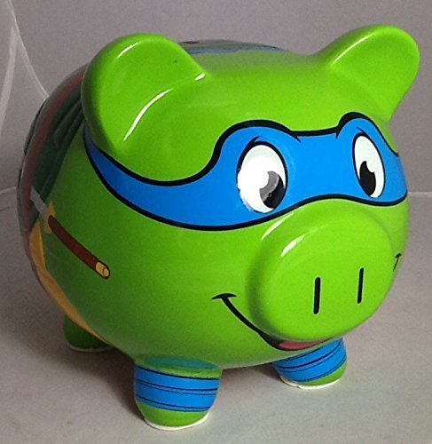 FAB Teenage Mutant Ninja Turtle Leonardo Piggy Bank