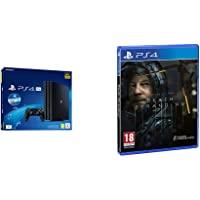 Sony PS4 PRO PlayStation Gamma Chassis + PS Live Card 20€, 4K HDR, 1 TB [Esclusiva Amazon.it] + Death Stranding…