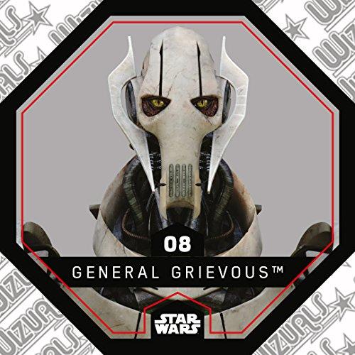 rewe Star Wars Cosmic Shells Normal 08General Grievous + WIZUALS Stickers