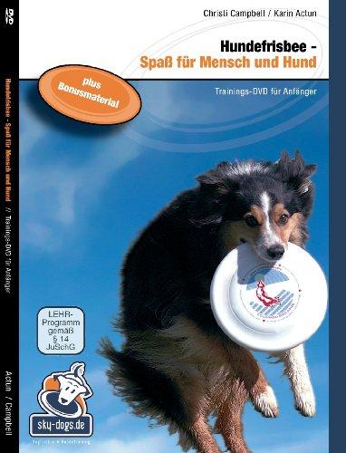 Hundefrisbee DVD - Spaß für Mensch und Hund