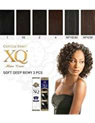 Cuticle XQ Remy SOFT DEEP REMY 3pcs (4 - LIGHT BROWN) by Shake N Go