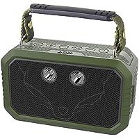 DOSS Traveler Altavoces Bluetooth portátiles e Impermeables. Cuentan con un Sonido HD de 20w, Graves mejorados, micrófono Incorporado y una batería Recargable [Verde]