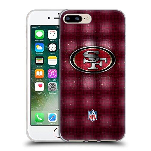 Offizielle NFL Marmor 2017/18 San Francisco 49Ers Soft Gel Hülle für Apple iPhone 6 Plus / 6s Plus LED