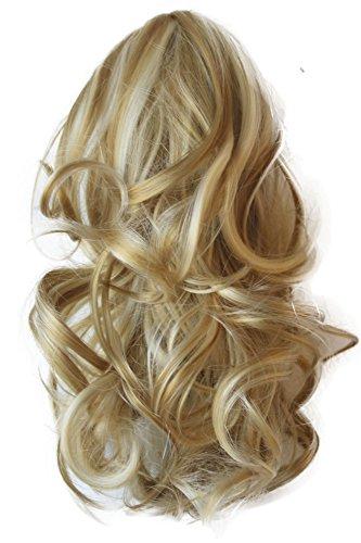 PRETTYSHOP Voluminöses Haarteil Hair Piece Pferdeschwanz Zopf Ponytail ca 35cm diverse Farben (blond mix H83_25H613)