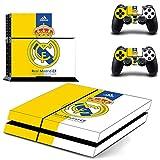 Playstation 4 + 2 Controller Aufkleber Schutzfolie Set - Real Madrid (4) /PS4