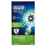 Oral-B PRO 600 CrossAction - Cepillo eléctrico recargable, color verde