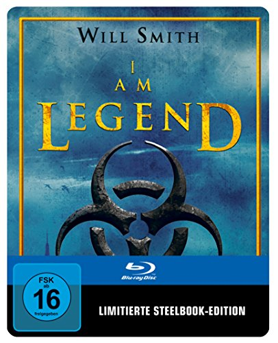 I am Legend Steelbook (exklusiv bei Amazon.de) [Blu-ray] [Limited Edition]