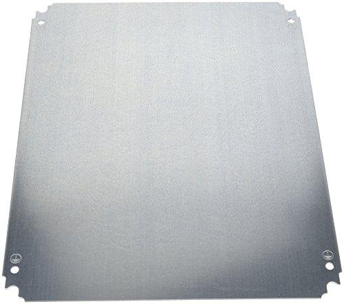 Schneider NSYMM54 Einfache Montageplatte H500xB400mm aus verzinktem Stahl
