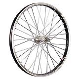 Taylor-Wheels 20 Zoll Vorderrad Büchel Alufelge/Aluminium Nabe Vollachse - schwarz