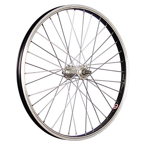 Taylor-Wheels Laufrad 20 Zoll Vorderrad Büchel Aluminiumfelge Vollachse schwarz