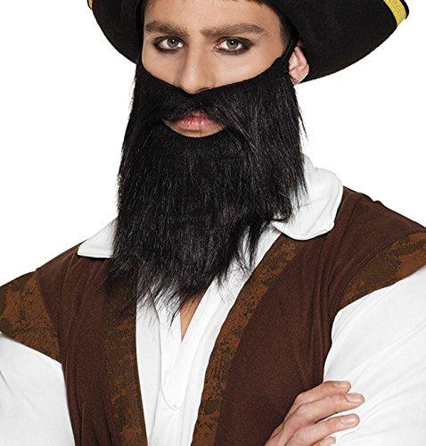 Boland 01840Barba Pirata, Disfraz, One Size