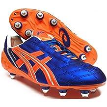 scarpe da calcio asics tigreor blu