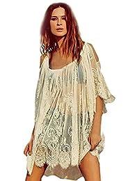 Hippie kleid einfarbig