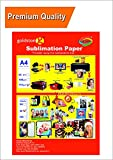GoColor High Quality Dye Sublimation Inkjet Paper 110 GSM A4 / 50 Sheets