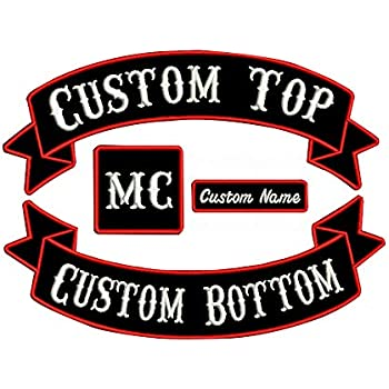 Creatieve hobby's Ecusson brodé moto applique thermocollante iron on motorbike biker patch 9,5 cm Versieringen, details