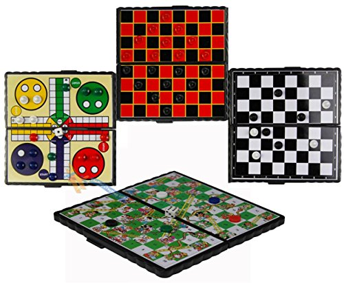 magnetic-travel-board-games-set-of-4-chess-ludo-snakes-and-ladders-draughts-game