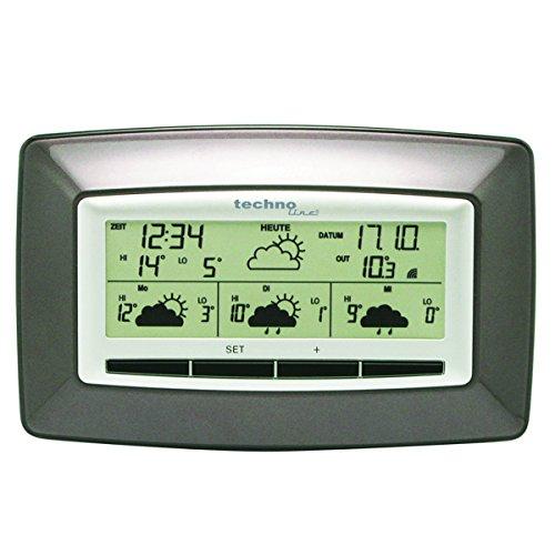 Technoline-WD-4005-Wetterdirektstation-mit-Wettervorhersage-fr-4-Tage