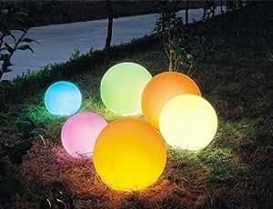 Led giardino sfere di luce 40 cm con cambio colore con telecomando casa e cucina - Sfere illuminazione giardino ...