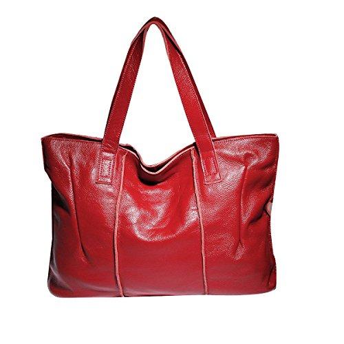 Frauen Neue Art Und Weise Schulter-Top Griff Tasche Damen Freizeit Kreuzkörper Red