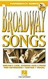 Broadway Songs (Paperback Songs)