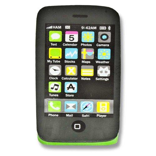 Radiergummi Handy Smartphone Touch Handy Mobile Phone grün Touch Mobile Handy