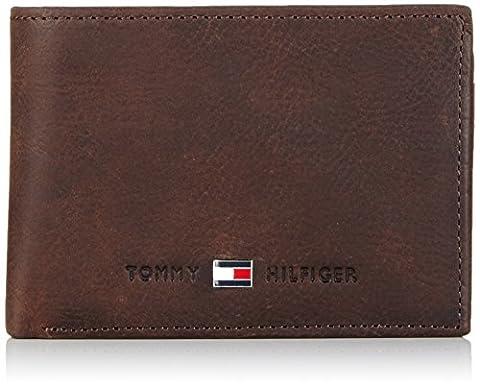 Tommy Hilfiger Geldbörse JOHNSON Mini Braun BM56927580-204 Geldbeutel Geldtasche Börse