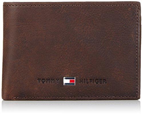 Tommy Hilfiger Geldbörse JOHNSON Mini Braun BM56927580-204 Geldbeutel Geldtasche Börse Portemonnaies