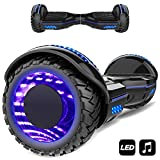 Markboard 6,5 Zoll self banlance Scooter mit LED Motorbeleuchtung 700W Motorleistung Offroad Reifen Elektro Self Balance Scooter Hover, E-Board