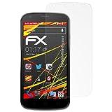 atFolix Schutzfolie kompatibel mit MobiWire Pegasus Bildschirmschutzfolie, HD-Entspiegelung FX Folie (3X)