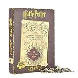 alltoshop® Harry Potter Karte des Rumtreibers Puzzles im 2er Set - Karte des Rumtreibers Puzzlespiel Marauder's Map Zauberei