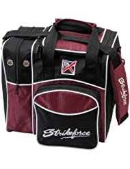 KR Strikeforce Flexx Sac de bowling simple Bordeaux