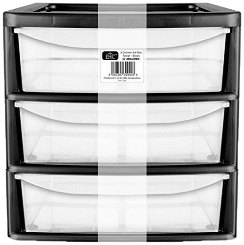 ehc-3-drawer-plastic-home-office-tower-desk-table-top-desk-storage-unit-black