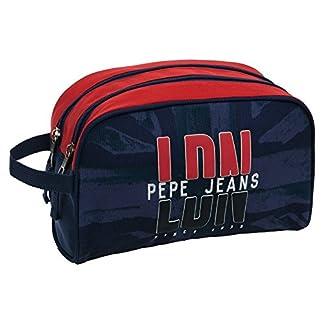 Pepe Jeans Dalton Neceser de Viaje, 4.99 Litros, Color Azul