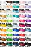 Jajasio 30 Yard-Rolle Satinband 6mm breit, Auswahl aus 50 Farben Schleifenband Geschenkband Dekoband / Farbe: 42 - flieder