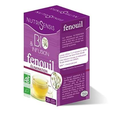 Infusion Fenouil bio - Elimination - 20 sachets