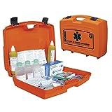 Valigia pensile con contenuti del primo soccorso Maxicases in polipropilene colore arancio 51,5 x 41,5 x 13,5 cm